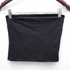 Brandy Melville Black Tube Top Made In Italy